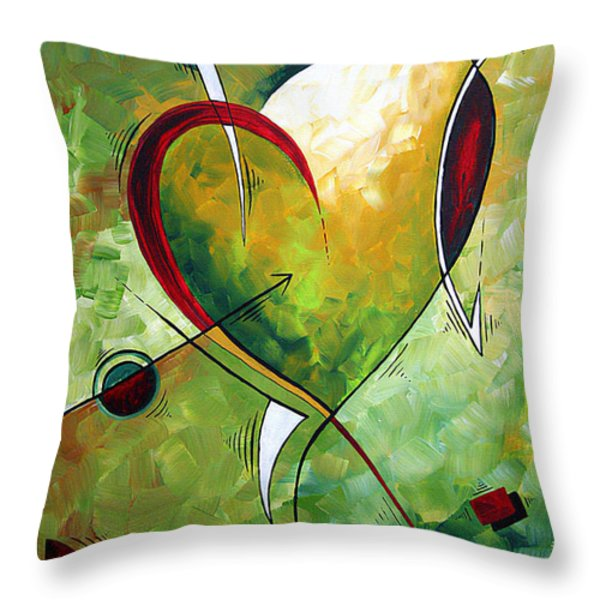 Happy Mother's Day by MADART Throw Pillow by Megan Duncanson