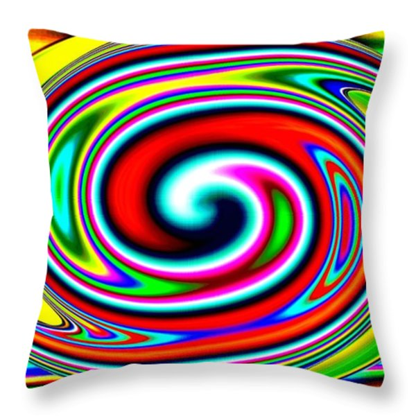 Harmony 39 Throw Pillow by Will Borden