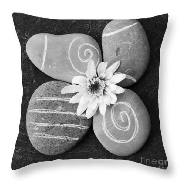 Harmony And Peace Throw Pillow by Linda Woods