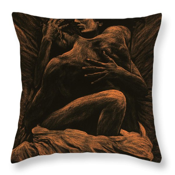 Harmony Throw Pillow by Richard Young