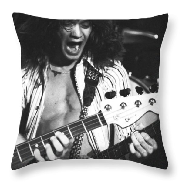 Having Fun On Stage Throw Pillow by Ben Upham