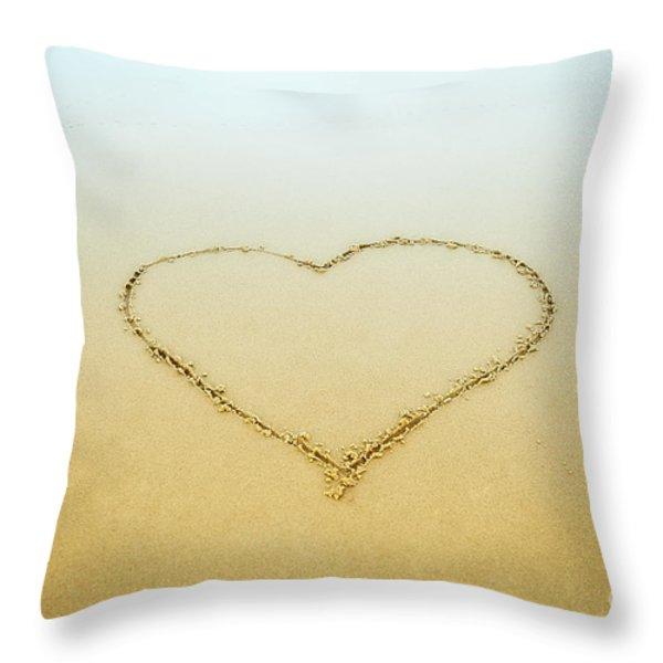 Heart Throw Pillow by John Greim