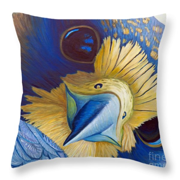 Heaven and Earth Throw Pillow by Brian  Commerford