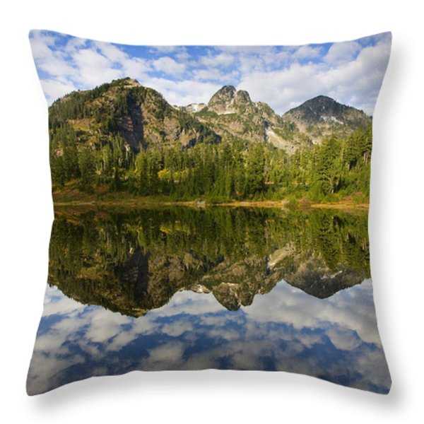 Heaven Unfolded Throw Pillow by Mike  Dawson