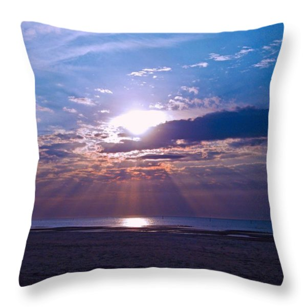 Heavenly Skies Throw Pillow by Brian Wright