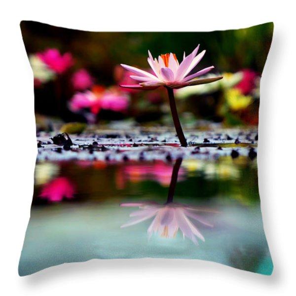 Heaven's Masterpiece Throw Pillow by Melanie Moraga