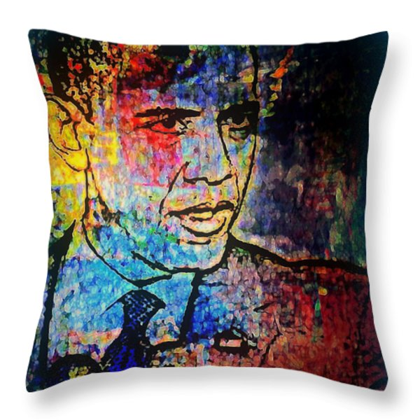 He's Still The One  Throw Pillow by WBK