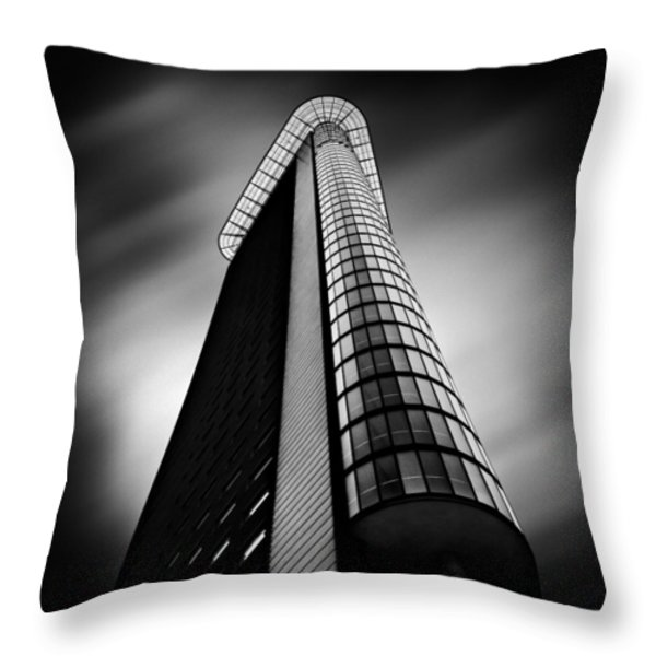 Het Strijkijzer Throw Pillow by Dave Bowman