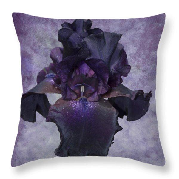 High Class Lady Throw Pillow by Diane Schuster
