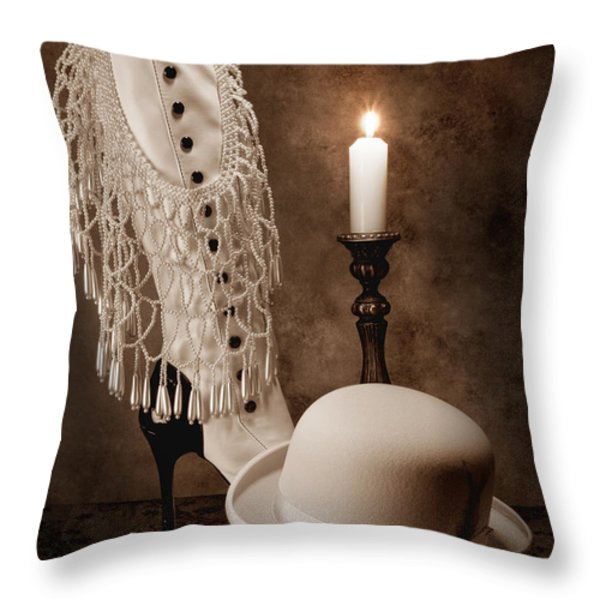 High Society Throw Pillow by Tom Mc Nemar
