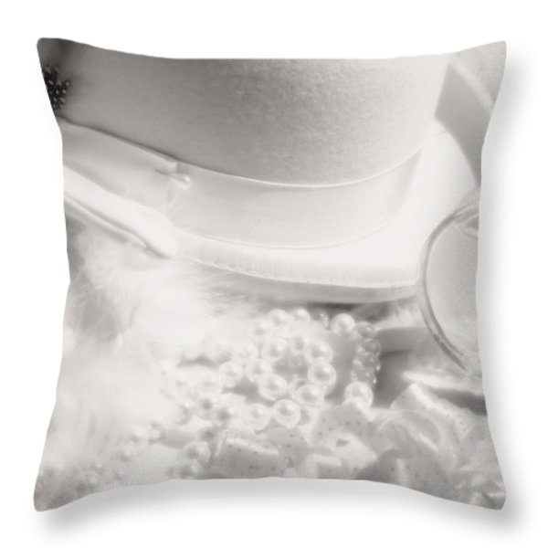 Hollywood Nights Throw Pillow by Tom Mc Nemar