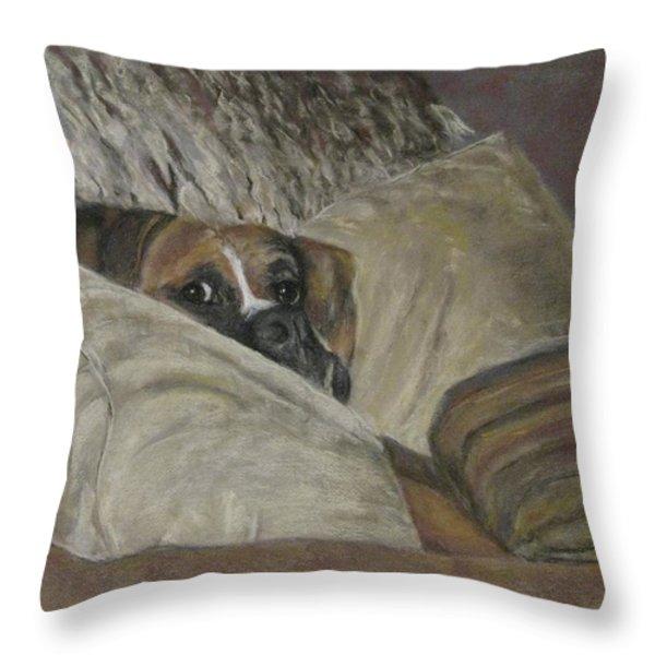 Home So Soon Throw Pillow by Elizabeth  Ellis