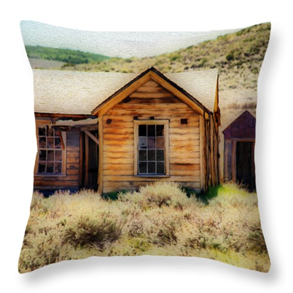 Homestead 2 Throw Pillow by Cheryl Young
