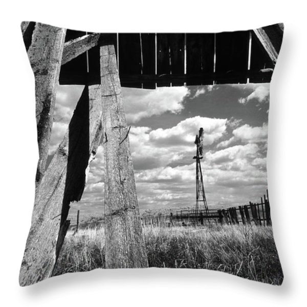 Homestead Throw Pillow by Bob Christopher