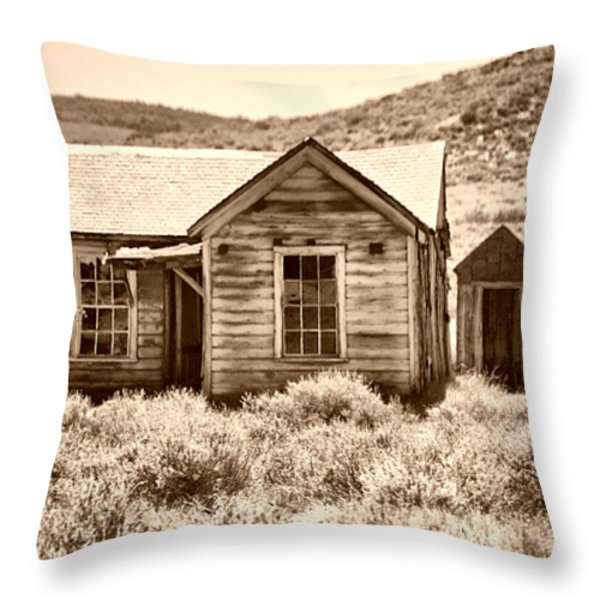 Homestead Throw Pillow by Cheryl Young