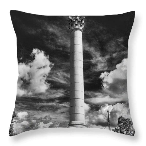 Honoring The Fallen Throw Pillow by Tim Wilson