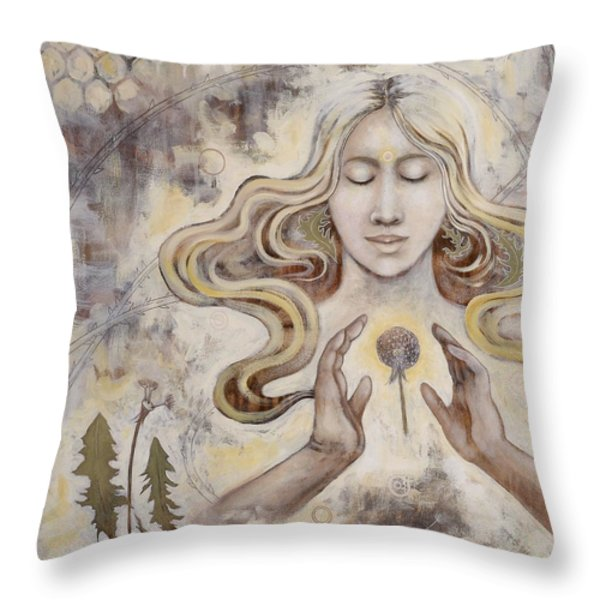 Hope Throw Pillow by Sheri Howe