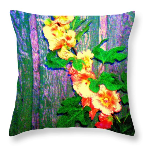 Hot Summer Afternoon Throw Pillow by Connie Valasco