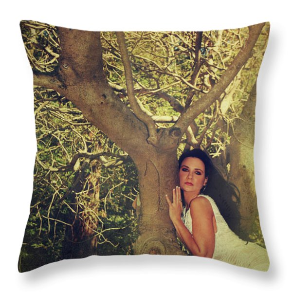 Humanize Throw Pillow by Laurie Search