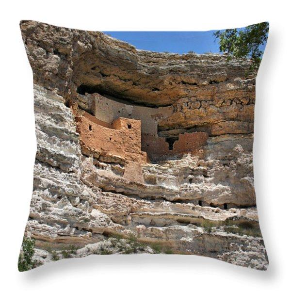 I Am Aztec Throw Pillow by Christine Till