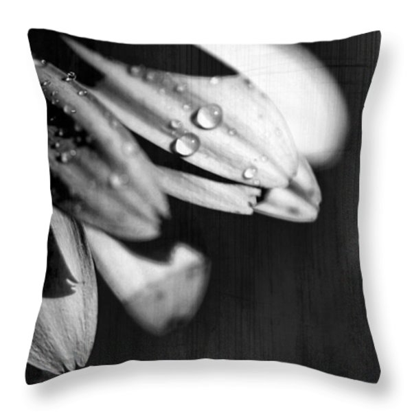 I Am Barely Breathing Throw Pillow by Laurie Search