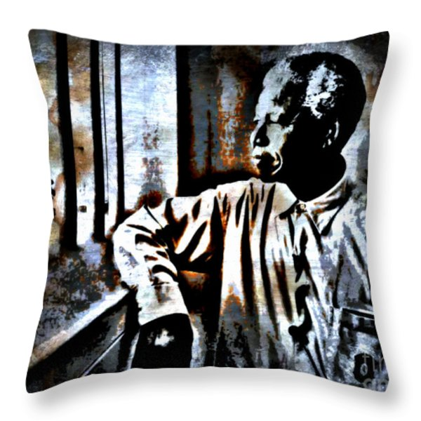 I Dream Of Freedom Throw Pillow by WBK