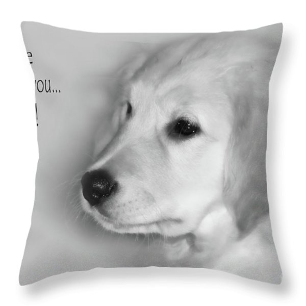 I Promise To Love You Always Throw Pillow by Cathy  Beharriell