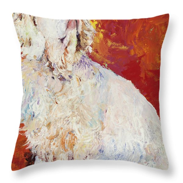 I Refuse Throw Pillow by Pat Saunders-White