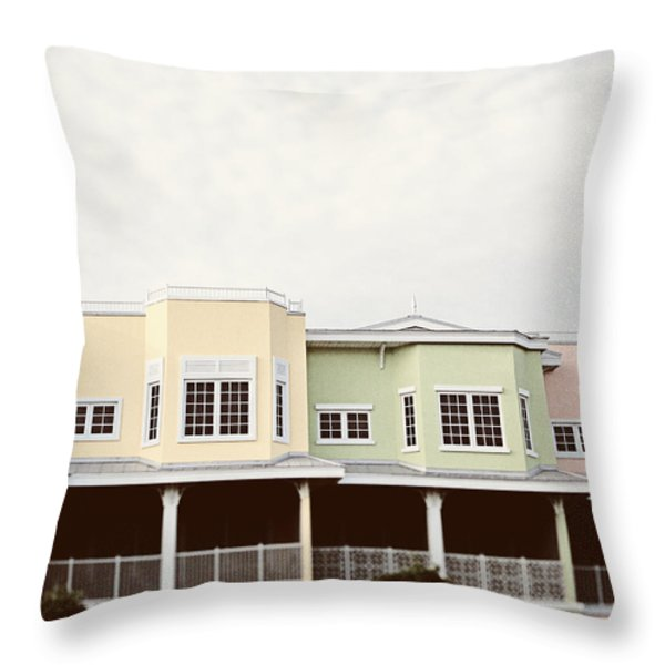 I Want To Go Back Throw Pillow by Lisa Russo