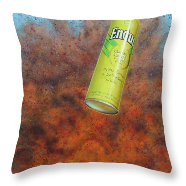 i.e.d. 2 Throw Pillow by James W Johnson