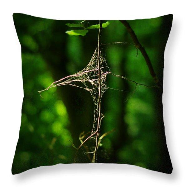 Illumination Throw Pillow by Rebecca Sherman