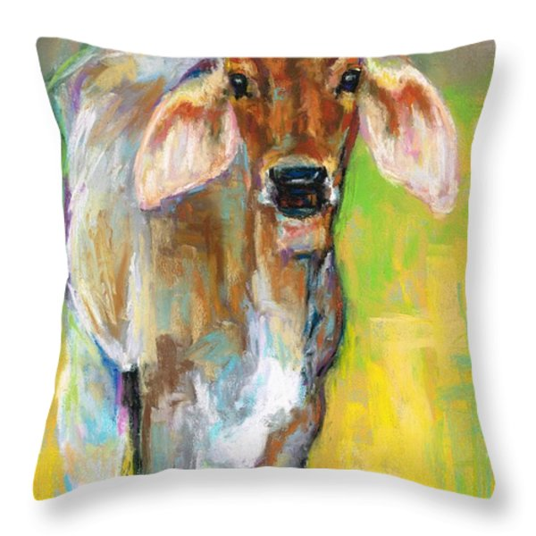 Im All Ears Throw Pillow by Frances Marino