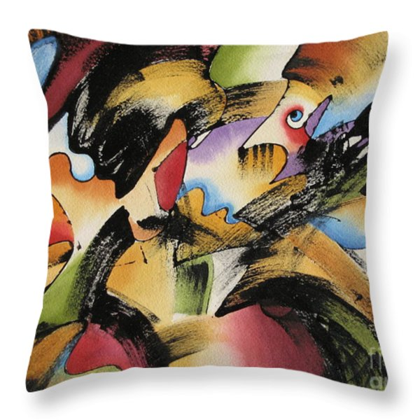 Imagination Throw Pillow by Deborah Ronglien