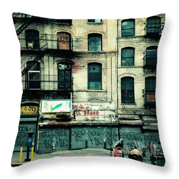 In Another Time And Place Throw Pillow by Vivienne Gucwa