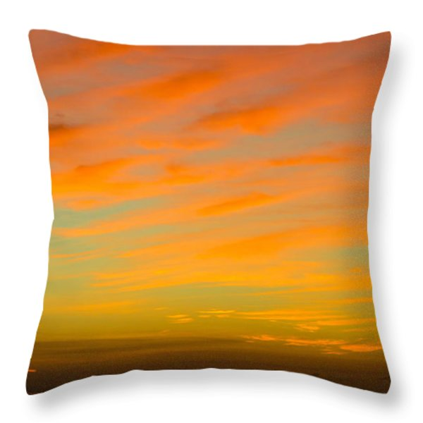 In The Heat Of The Night Throw Pillow by Rene Triay Photography