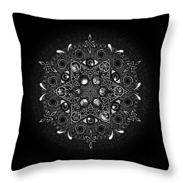 Inclusion Throw Pillow by Matthew Ridgway