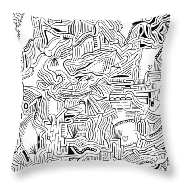 Inclusive Throw Pillow by Steven Natanson