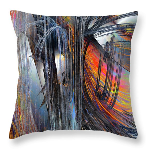 Infatuation Throw Pillow by Michael Durst