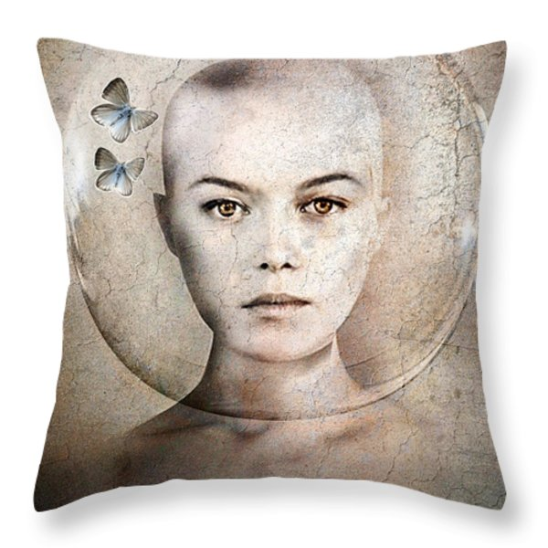 Inner World Throw Pillow by Photodream Art