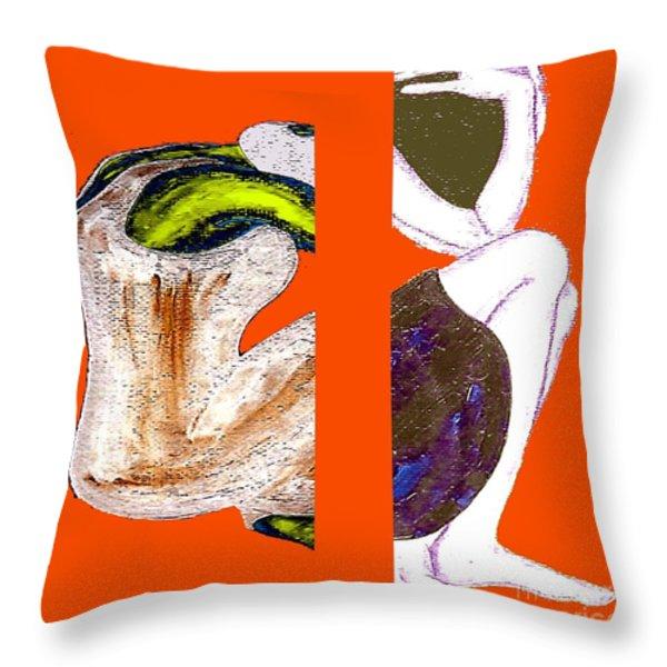 Inside The Heart Throw Pillow by Patrick J Murphy