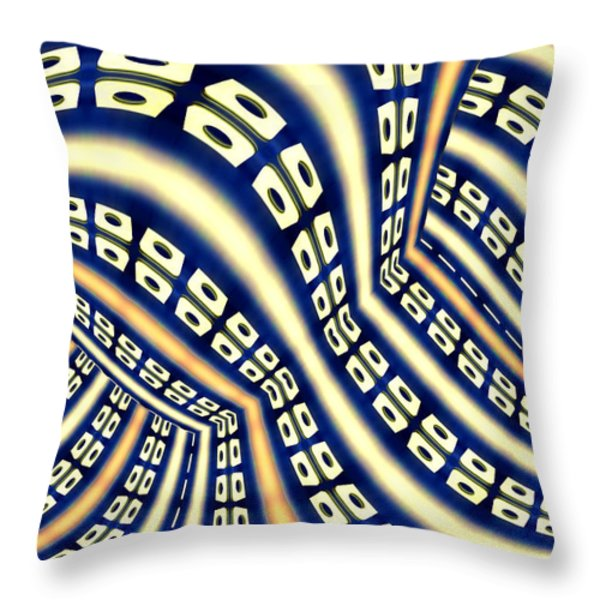 Interchange Throw Pillow by Paul Wear