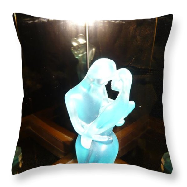 Intimacy Throw Pillow by PIETY DSILVA
