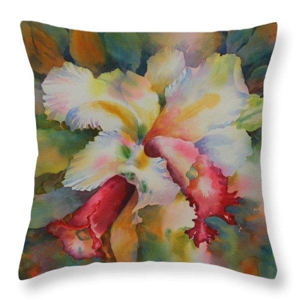 Into the LIght Throw Pillow by Tara Moorman