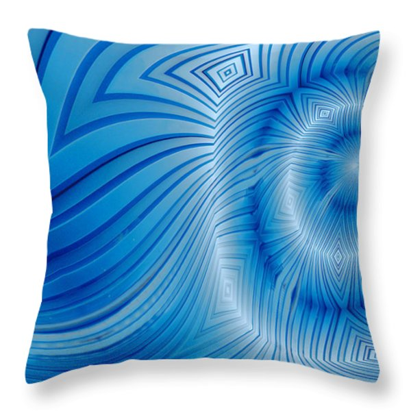Into The Mystic Throw Pillow by Paul Wear