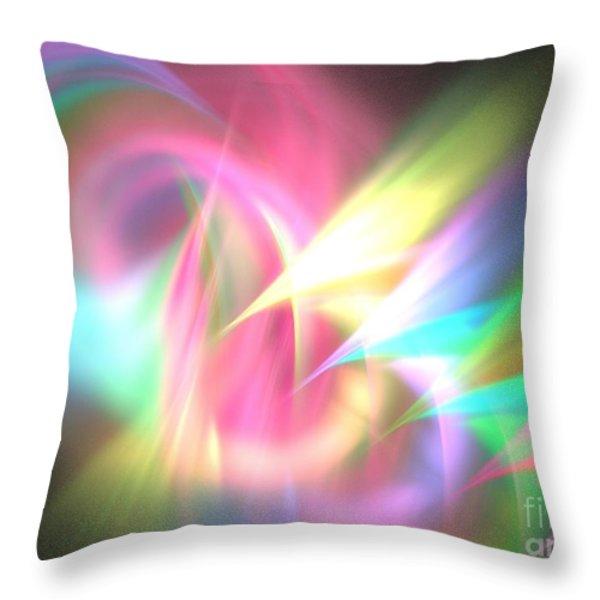 Ionosphere Throw Pillow by Kim Sy Ok