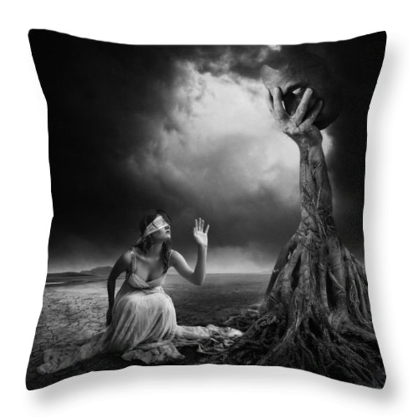 Is There Anybody Out There? Throw Pillow by Erik Brede