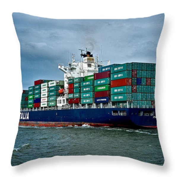 Ital Milione Throw Pillow by Christopher Holmes