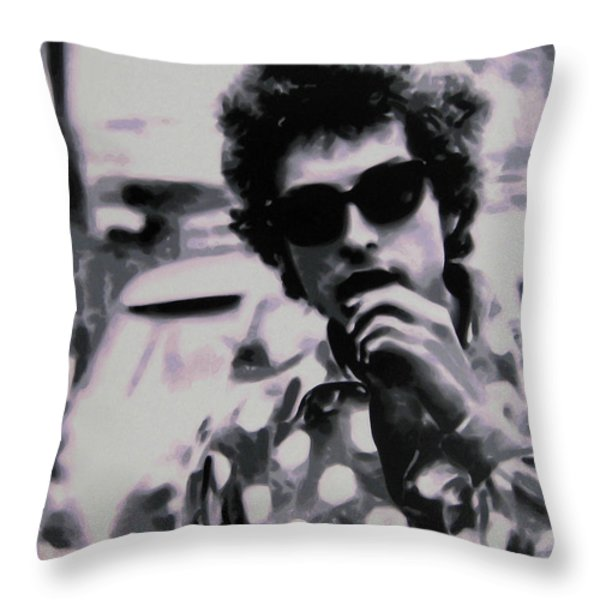 Its not dark yet buts its getting there Throw Pillow by Luis Ludzska