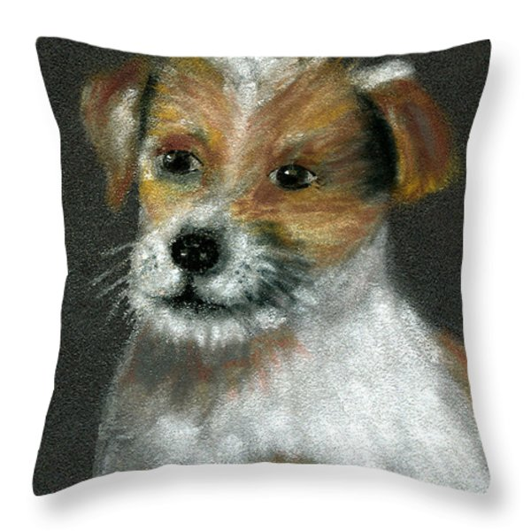 Jack Throw Pillow by Arline Wagner
