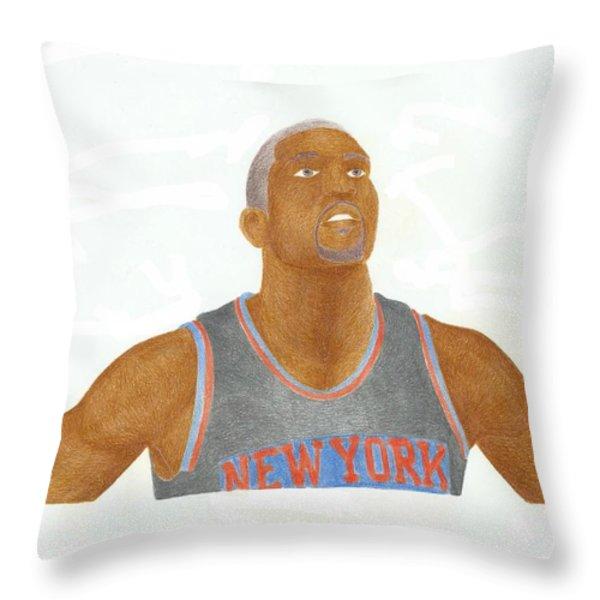 James White Throw Pillow by Toni Jaso